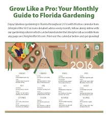 your monthly guide to florida gardening