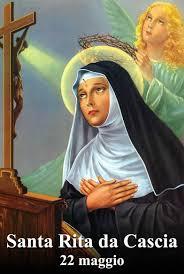 Santa Rita da Cascia | Preghiera, Santi cattolici, Immagini religiose