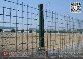 Welded Roll Mesh Fencing 50x50mm Square Hole Ral6005 Green Pvc Coated