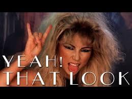 80s inspired rock makeup you