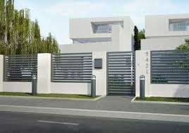 Minimal House Fencing Does Not Mean Extremely Simple Does Not Differ Which S The Design Actually The Te House Fence Design Modern Fence Design Fence Design