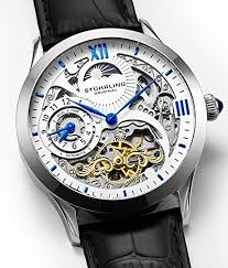mens stainless steel automatic watch