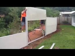 Building A Wallmark Modular Fence With Fencescape Fencing Youtube