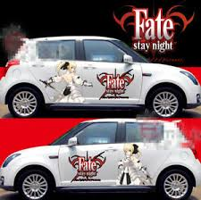 Anime Fate Stay Night Girl Car Doors Graphics Decal Vinyl Sticker Fit Any Car Ebay