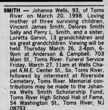 Obituary for Johanna SMITH (Aged 93) - Newspapers.com