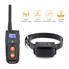 Dog Training Collars With Remote Shock Collar For 2 Dogs Small Medium Large Rechargeable 100 Waterproof E Collar With 3 Training Correction Modes Shock Vibration Beep 1000 Range Pet Supplies Cjp Org In