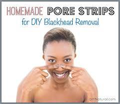 diy pore strips a natural homemade way