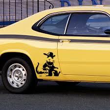 Rapper Rat Banksy Car Sticker Window Body Vinyl Drift Decal Hat Marathon Runners Motorcycle Auto Accessories Car Stickers Window Car Stickercar Window Sticker Aliexpress