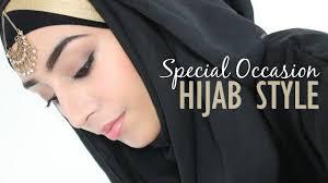 hijab tutorial special occasion hijab