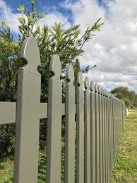 Aluminium Picket Garden Fencing Inverell Grafton Armidale Steeline Fnw