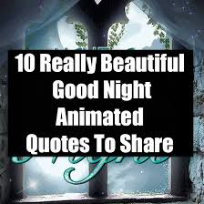 10 really beautiful good night animated