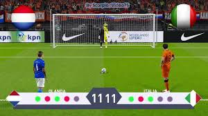 PES 2020 • Olanda Vs Italia • Calci di Rigore • UEFA Nations League -  YouTube