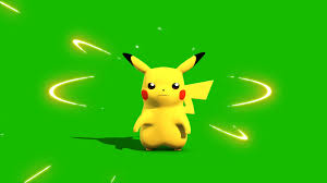 Pokemon Go Pikachu - 3D Model Animated - PixelBoom