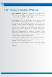 citibank rewards benefit book pdf