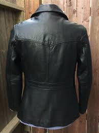 antique leather jacket bought used in