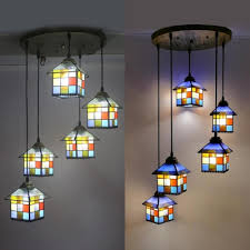 colorful house shade hanging lamp 5