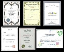 certificate nichole psy bridal makeup
