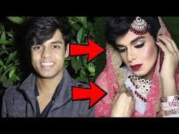 boy to indian muslim bridal makeup