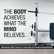 Gym Stickers Vinyl Wall Decal Exercise Bike Sports Healthy Sutanrajaamurang