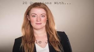 20 Questions With... Adele Jones - YouTube