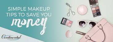simple makeup tips to save you money