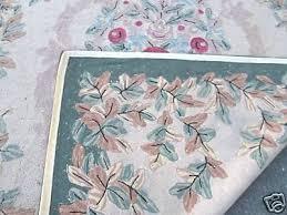 Antique Priscilla Turner Hand Hooked 8' x 10' Wool Rug | #46187814