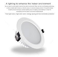 Scon AC110 240V Phòng Khách Tròn Chống Nước Đèn LED Âm Trần Downlight  3inch9W Bóng Đèn Osram Chip Trang Trí Đèn Âm Trần 3000 K 4000 K 6000 K -  Aliexpress
