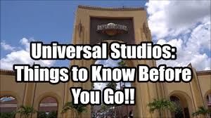 universal studios orlando tips things
