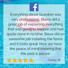 Guardian Pool Fence Systems Posts Facebook