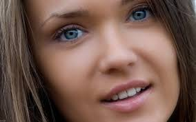 lovely eyes beauty photo wallpaper