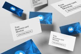 55 business card psd mockup templates