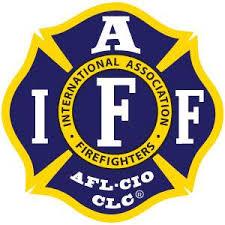 Iaff Navy Yellow Decal Firefighter Com