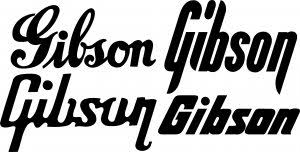 Gibson Guitars 6 Vinyl Decal Stickers 2 5 2 3 2 2 4 Designs Available