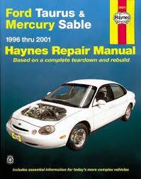 ford taurus mercury sable 1996 thru