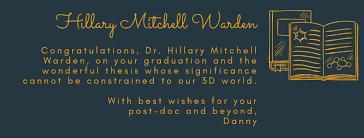 Mitchell Warden, Hillary – Badger Chemist News – UW–Madison
