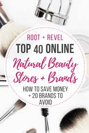 the top 40 natural beauty s
