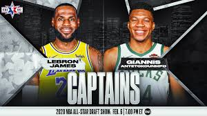 Lakers' James, Bucks' Antetokounmpo named starters and captains ...