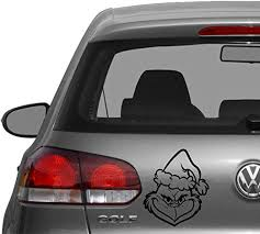 Amazon Com Increation Company Car Vehicle Grinch Stole Christmas Logo Decal Vinyl Sticker Bumper Window Apply Anywhere Message Desired Color From Item Images Home Kitchen