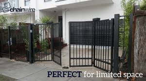 Benefits Of A Swinging Bi Fold Gate Chainwire Fencing Specialist