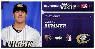 Charlotte Knights lefty Aaron Bummer is... - Minor League Baseball |  Facebook