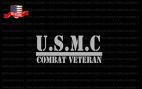 Usmc Combat Veteran Decal Sticker United States Marine Corps Ebay