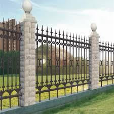 China Residential Outdoor Decorative Metal Fence Panels China Decorative Metal Fence Panels Steel Fence