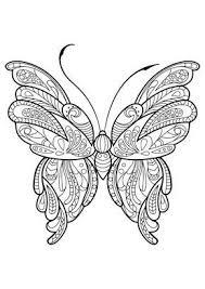 Volwassen Vlinder Kleurboek Mandala Kleurplaten Kleurplaten