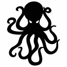 16 13 2cm Octopus Wall Decals Kraken Funny Boat Car Bumper Window Vinyl Sticker Art Decor Funny Personality Stickers Brag Fishing And 4x4