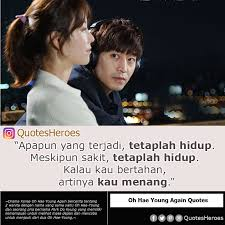 kutipan film kdrama on oh hae young again drama korea