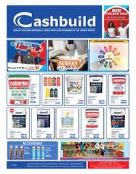 Cashbuild Catalogues Specials Black Friday