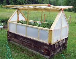 diy greenhouse garden beds