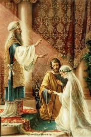Boda de José y María | Catholic art, Catholic pictures, Catholic ...