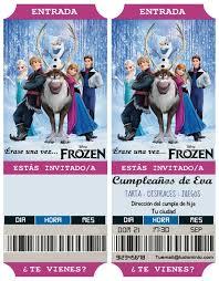 Invitaciones De Cumpleanos Frozen Invitaciones De Frozen