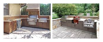 finish your outdoor kitchen cabinets
